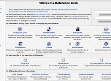 Wikipedia Reference Desk